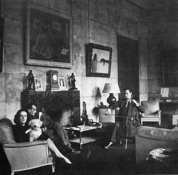 Marie-Laure de Noailles in her Paris Salon