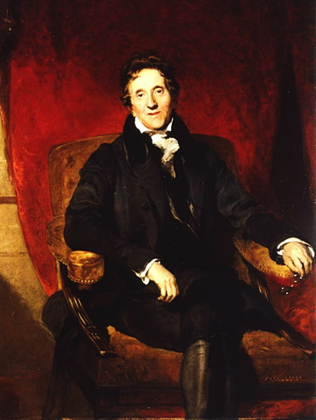 Portrait of Sir John Soane by Sir Thomas Lawrence, 1829.