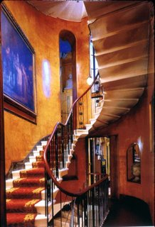 John Soane House Cantilevered Staircase