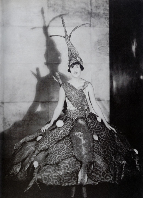 Marie-Laure de Noailles in Hyères, circa 1930; photographed by Man Ray, 1929.