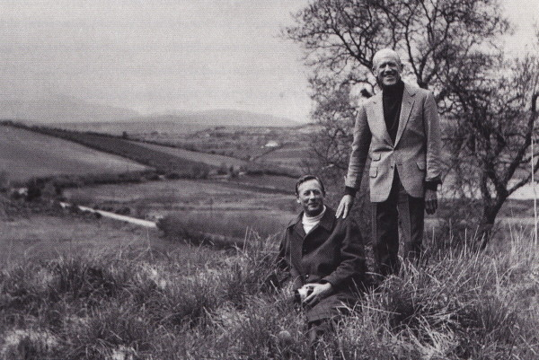 Rory Cameron, left, with Truex in Ireland. Photo from Van Day Truex's personal collection, courtesy Van Day Truex: The Man Who Defined Twentieth-Century Taste and Style.