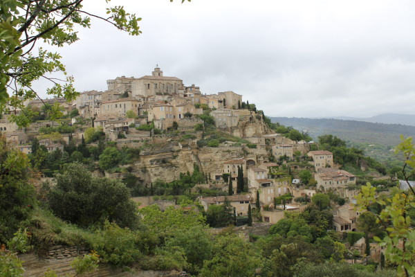 The ancient city of Gordes in the Lubéron. Photo by Cristopher Worthland.