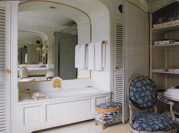 Le Clos de Givenchy Guest Bath