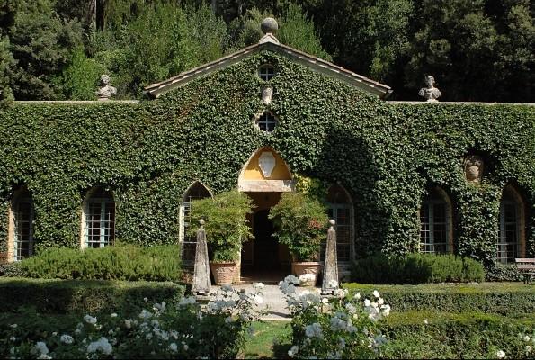 The Orangery at La Vagnola,Giancarlo Giammetti's villa in Cetona, Tuscany.