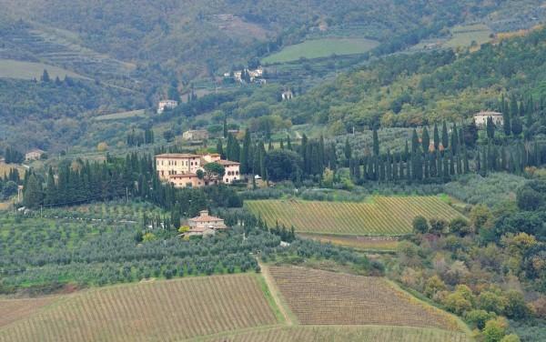 Villa Vignamaggio, Greve-in-Chianti.