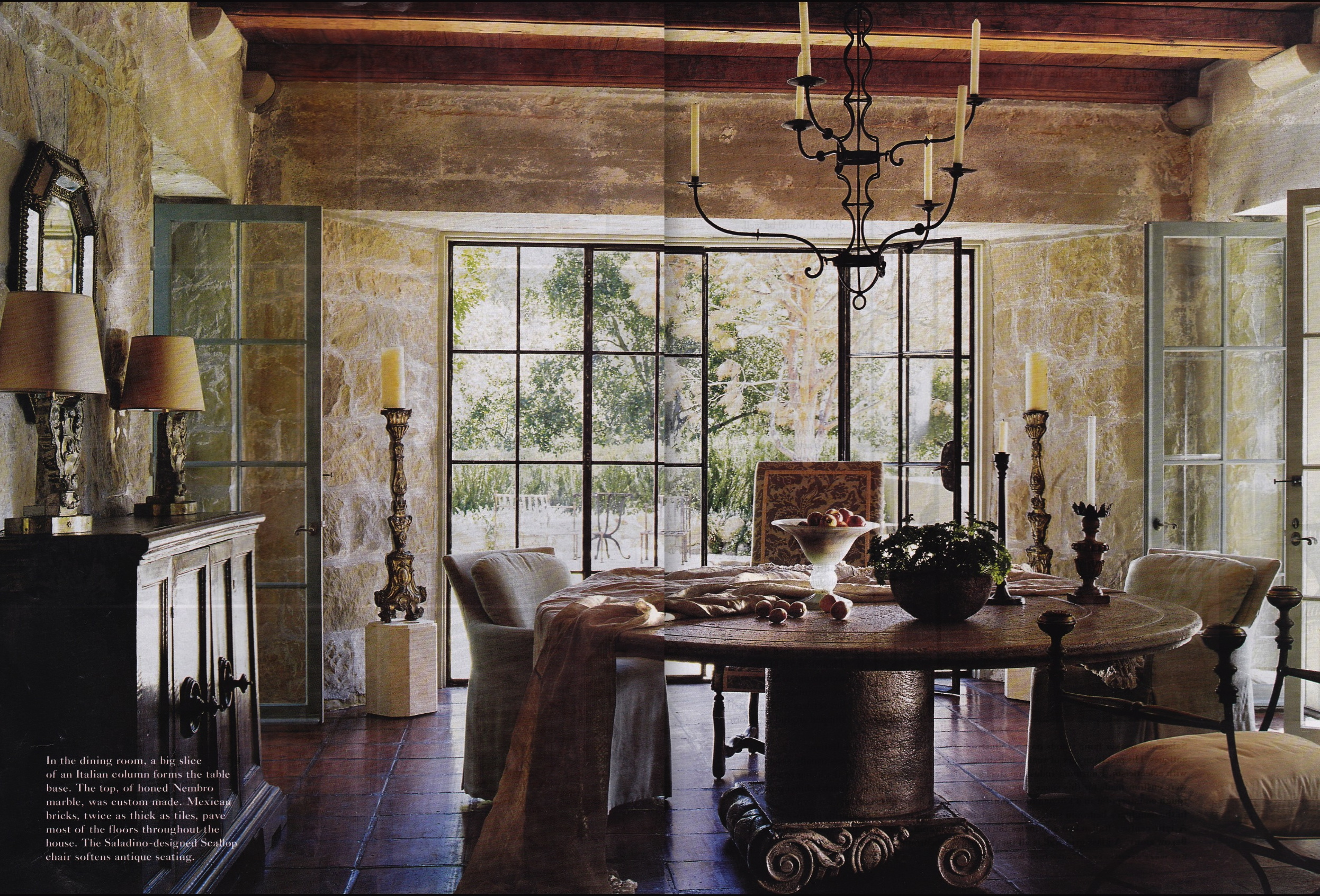 Dining Room Santa Barbara Saladino