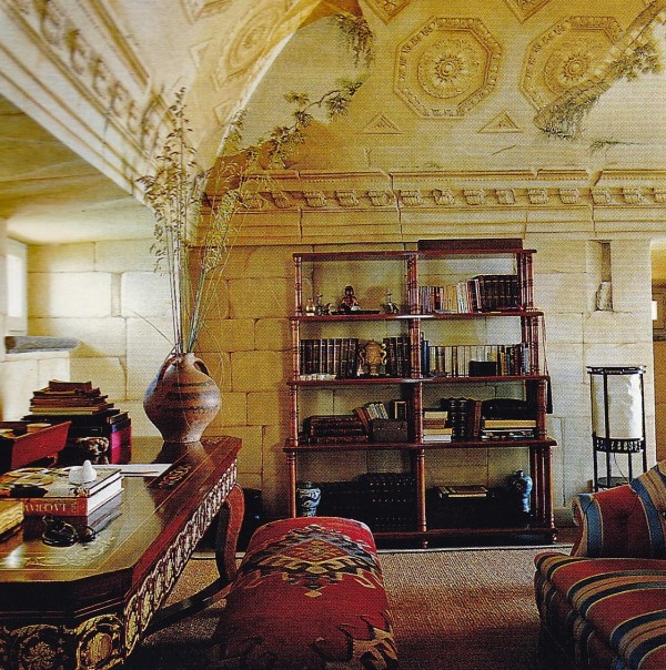 Elsa Peretti-Tower Room-Mongiardino