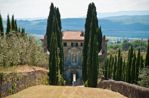 Villa Cetinale. Photo courtesy of the Villa Cetinale website.