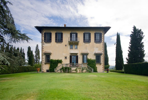 Villa delle Rose as it appears today under the ownership of the Ferragamo's. Photo courtesy Villa delle Rose website.