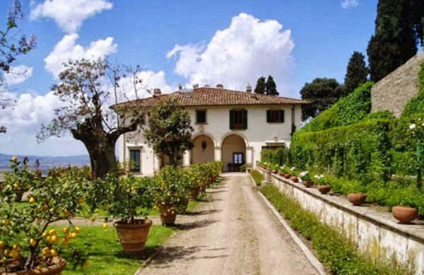 Image from the Villa Medici in Fiesole website.