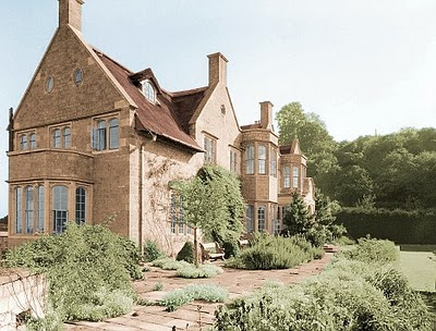 Hilles House, the country house Detmar Blow designed for his family in Harescombe, Gloucestershire, in 1914.
