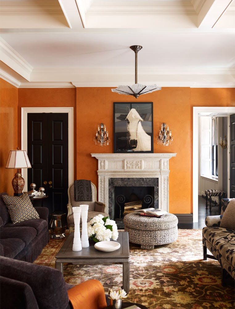 Decorating Living Room With Brown Couch