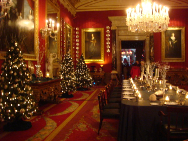 Christmas At Chatsworth Cristopher Worthland Interiors