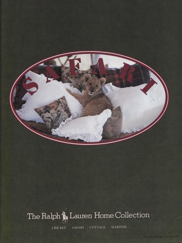 Ralph Lauren Home Collection-Safari-1984