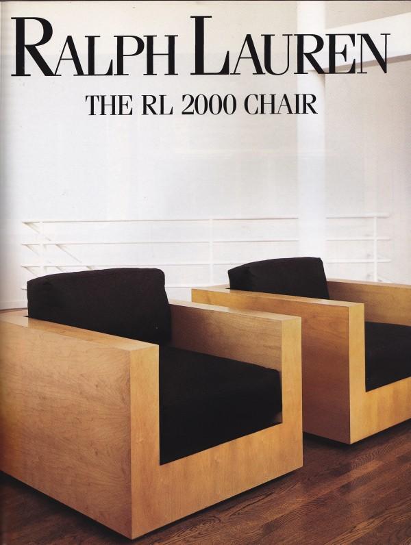 RL 2000 Chair, 1992