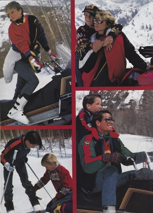 Ski Lodge, 1984.