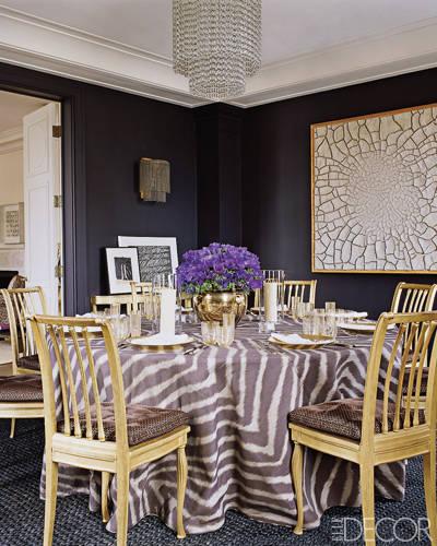 Jacques Grange for Aerin Lauder; Elle Decor 2009. Photo by Simon Upton.