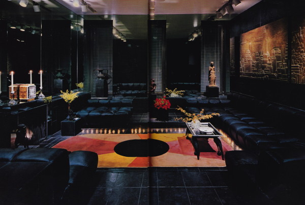 Eric Bernard; Architectural Digest 1975. Photo by Jaime Ardiles-Arce.