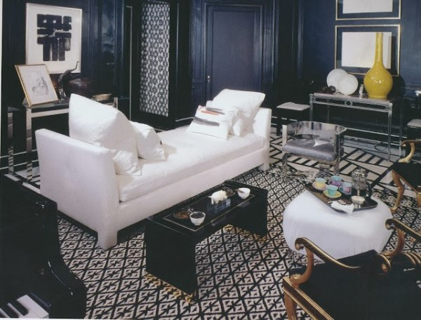 Stephen Mallory for the Kips Bay Decorator Show House, c. 1970's.