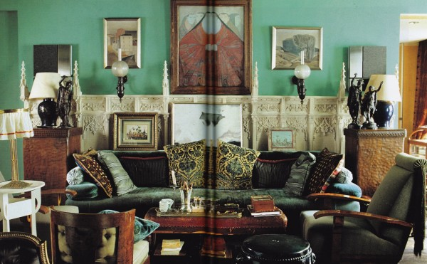 Maroun Salloum-Paris-World of Interiors- May 99-Guillaume de Laubier