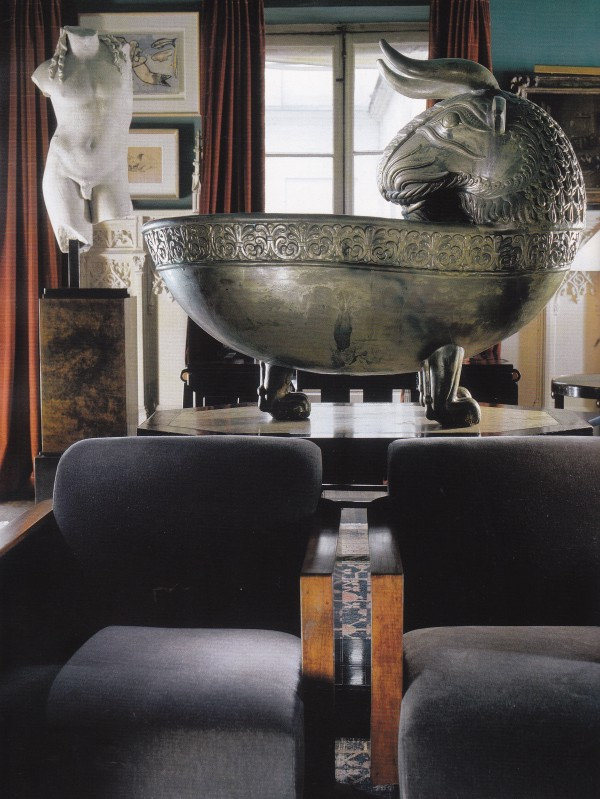 Maroun Salloum-Sitting Room-Paris-Esprit Collection-ElleDeco 2004-Guillaume de Laubier