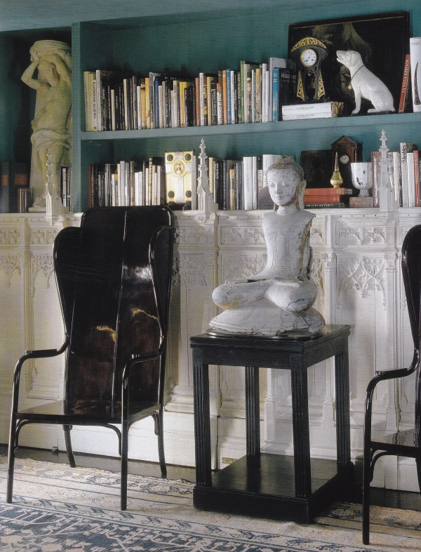 Maroun Salloum-Sitting Room-Paris-Esprit Collection ElleDeco-2004-Guillaume de Laubier