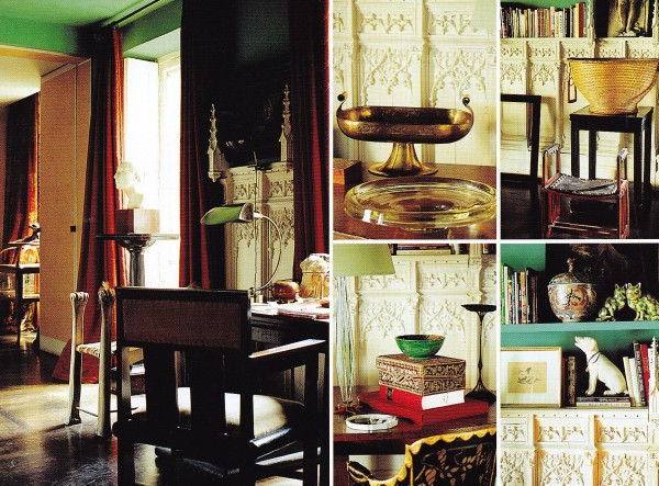 Maroun Salloum-Sitting Room-Paris-The World of Interiors-May 1999-Guillaume de Laubier