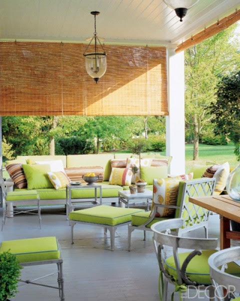 Great outdoor rooms verandas and loggias cristopher - Estores decorados ...