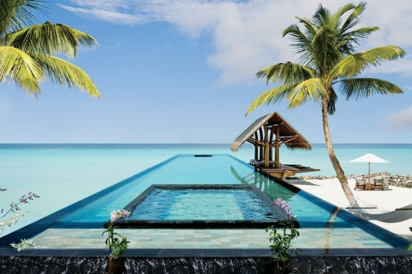 One & Only Reethi Rah North Male Atoll, Malidives, is a tropical paradise set on a private island in the middle of the Indian Ocean. Photo via One & Only.