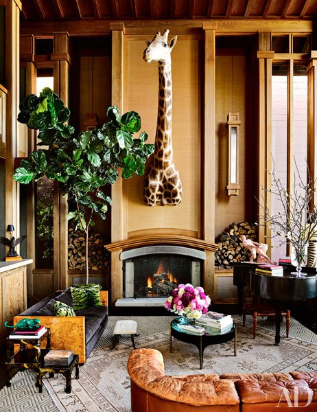 Ken Fulk Design San Francisco: Rustic Urban Glamour: Duncan House