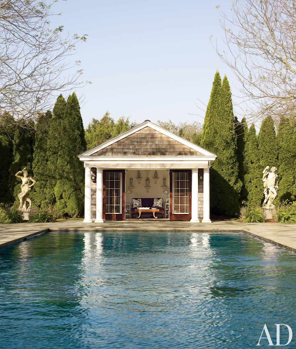 Posh Pool Pavilions Cristopher Worthland Interiors