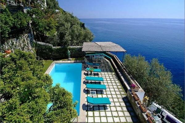 Pool Terrace-Villa Maura-Positano-Amalfi Coast