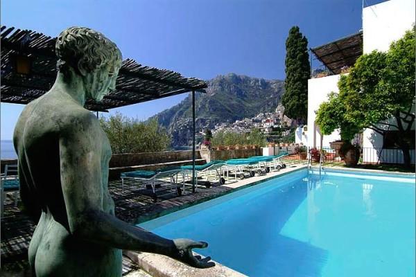 Pool-Villa Maura-Positano-Amalfi Coast