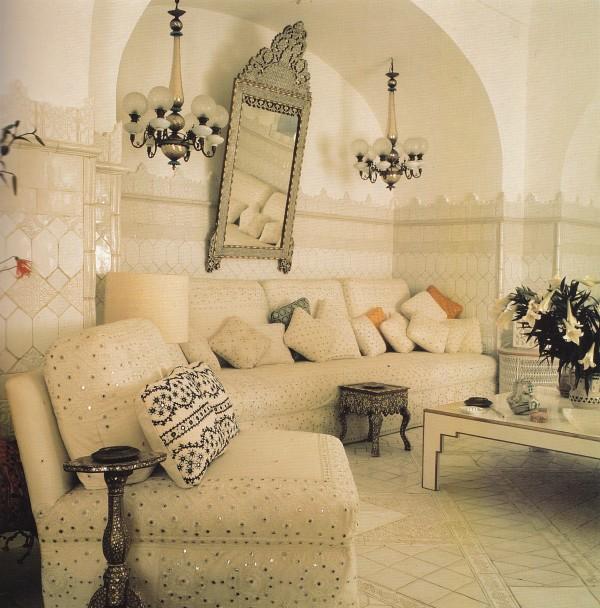 Salon-Franco Zeffirelly-Villa Tre Ville-Renzo Mongiardino-Roomscapes-Horst