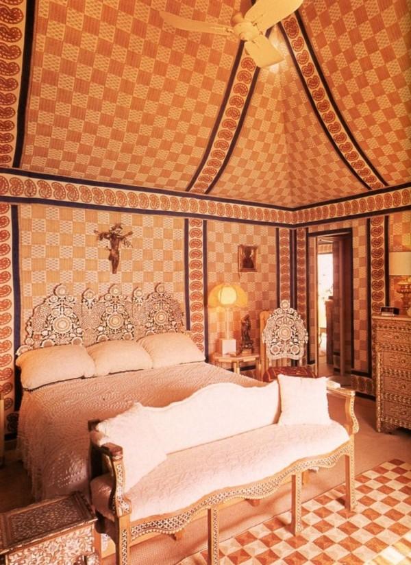Franco Zeffirelli-Bedroom-Villa Tre Ville-Positano-Horst