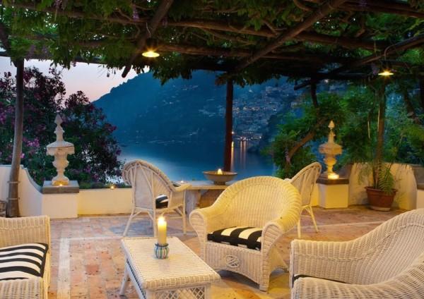 Veranda-Villa Tre Villa Hotel-Positano