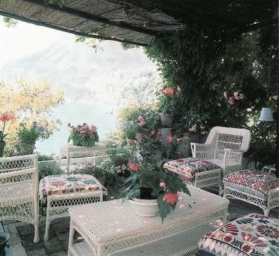 Franco Zeffirelli-Veranda-Villa Tre Ville-Mongiardino-Horst