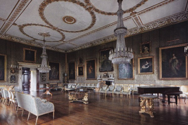 Great Drawing Room-Badminton House-British House and Garden March 2014-James Fennell