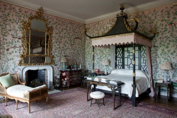 The Chinese Bedroom-Badminton House-British House and Garden-James Fennell