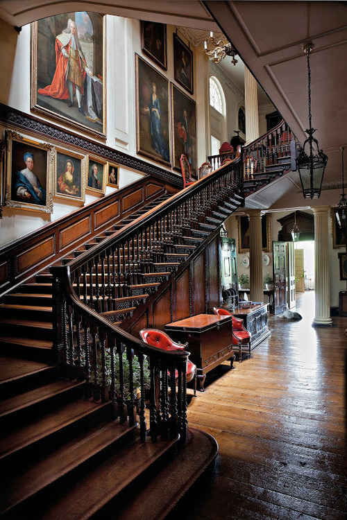 The Great Staircase-Badminton House-Gloucestershire-The English Country House-James Fennell