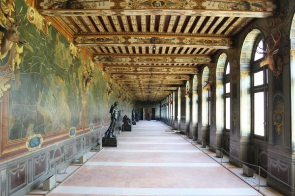 Galerie des Cerfs-Château de Fontainebleau