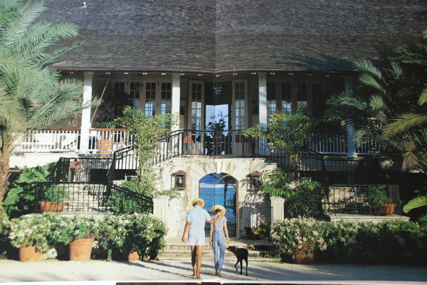 The late Oscar de la Renta's plantation-style villa in the Domincan Republic. Photo by François Halard.