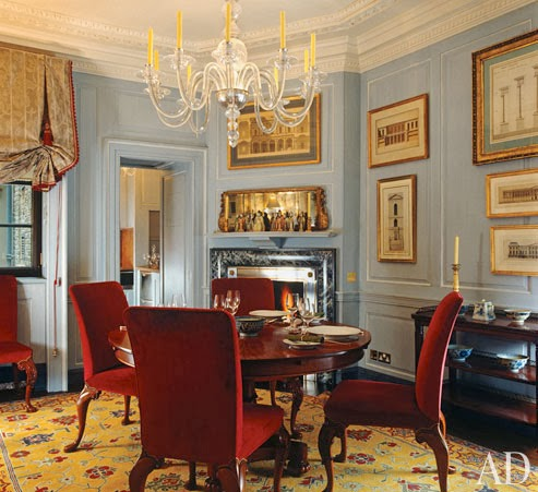 Fire and ice cristopher worthland interiors for John stefanidis interior design