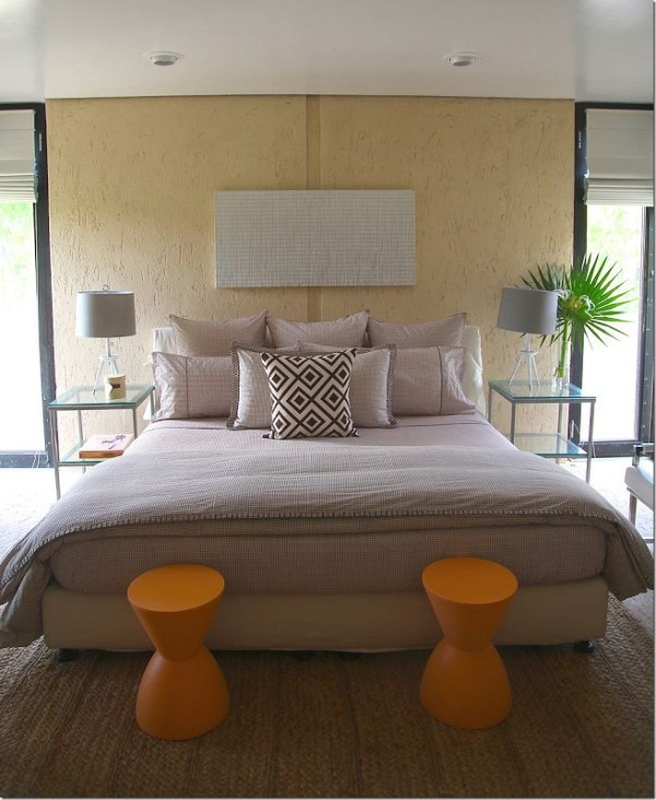 The master bedroom at Savannah House as refreshed by India Hicks.