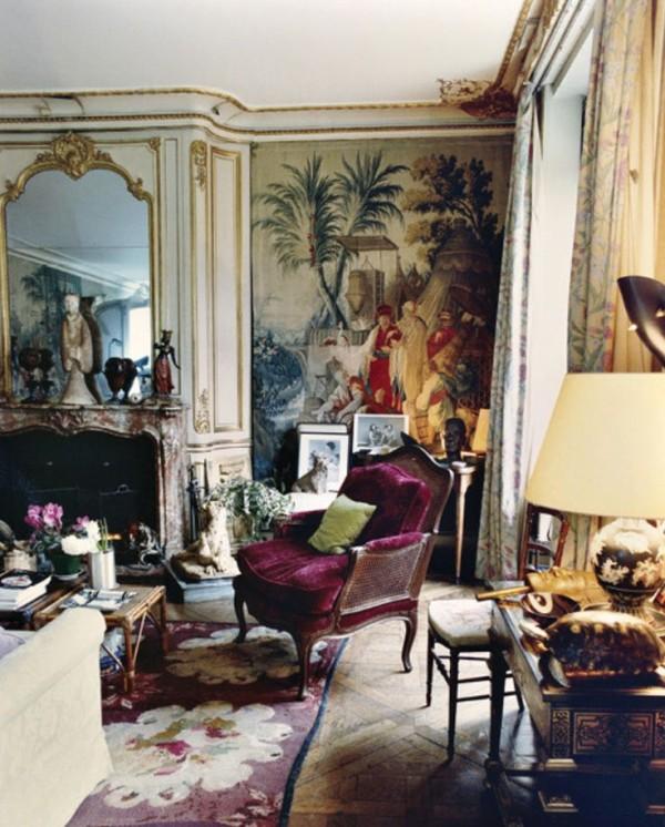 Gogo Schiaparelli-Paris apartment-Francois Halard