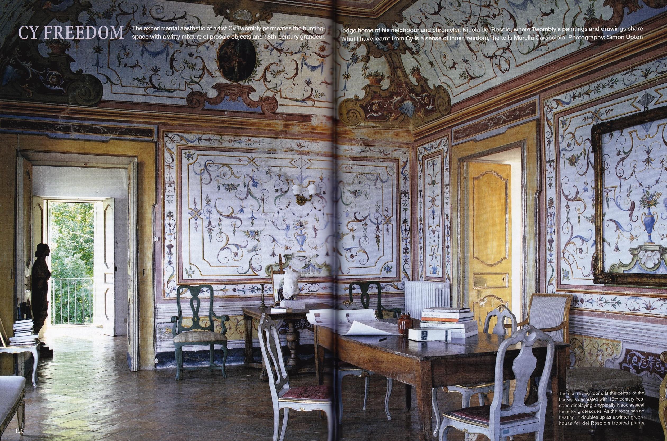 Mediterranean Blues Cristopher Worthland Interiors