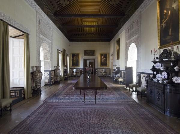 Dining Room-Casa Pilatos-Seville-Spain