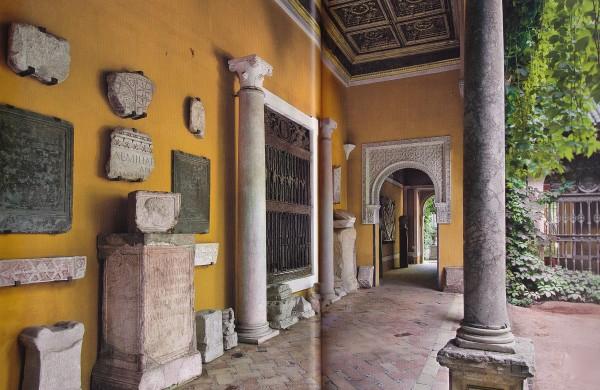 Zaquizami's Corridor-Casa Pilatos-Seville-Spain