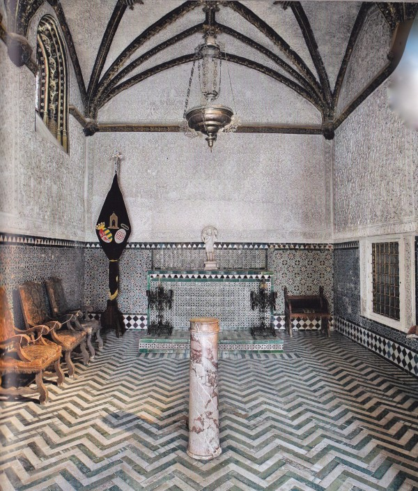 Flagellation Chapel-Casa Pilatos-Seville