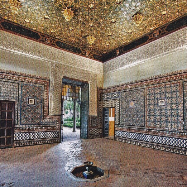Pilate's Cabinet-Casa Pilatos-Seville-Spain